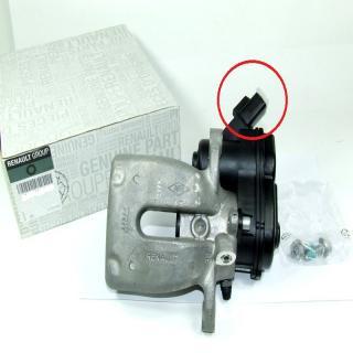 Brake caliper area to check